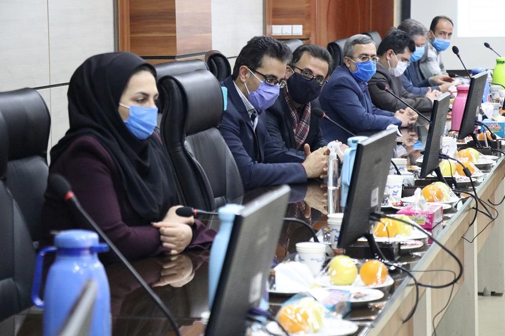 بازدید آقای دکتر رحیمی، معاون پژوهش و فناوری وزارت عتف از پارک علم و فناوری استان سمنان ۱۳۹۹/۱۱/۰۹